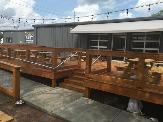 East Nashville Beer Works opened in August 2016.