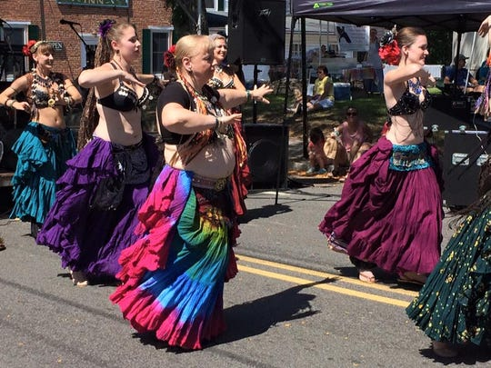The Star City Tribal Bellydancers will take part in the Riverfest Celebration in Frenchtown from noon to 6 p.m. Sunday, Sept. 4.