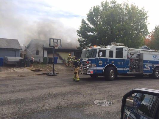 Keizer home fire