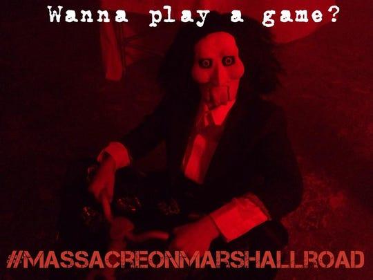 The Massacre on Marshall Road haunted house kicks off Friday and Saturday.