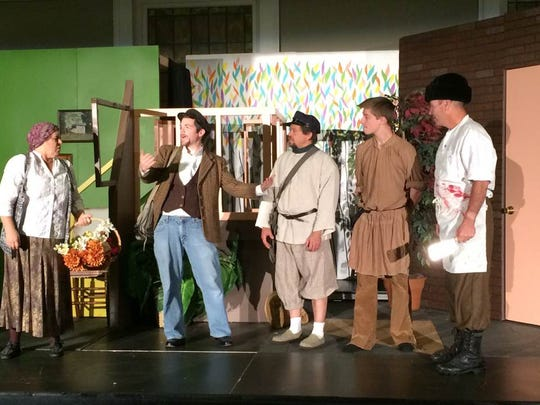 "Newburgh Community Theater's  ""Fool"" is a comedy and"