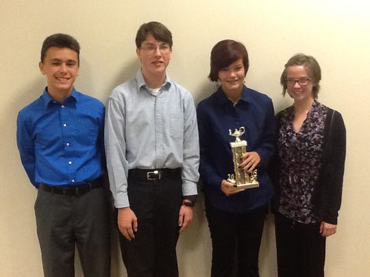 Mansfield Christian School took first place in the