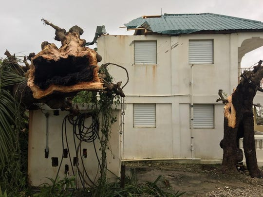 Damage done to the Mission Haiti property because of