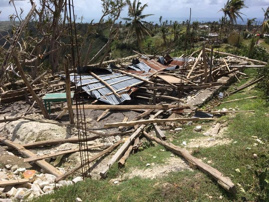 One of Mission Haiti's churches destroyed in Hurricane