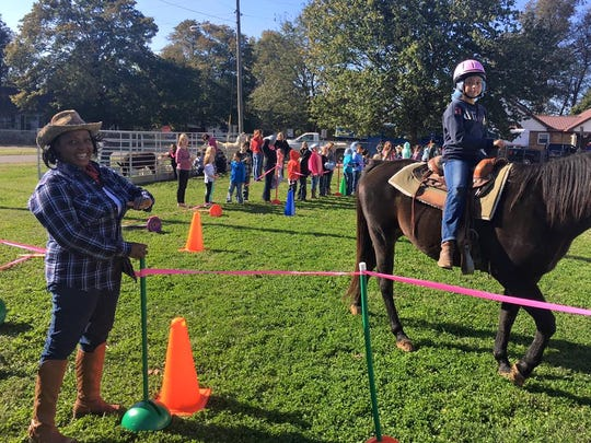 Horse rides were a hit during the proficient celebration!