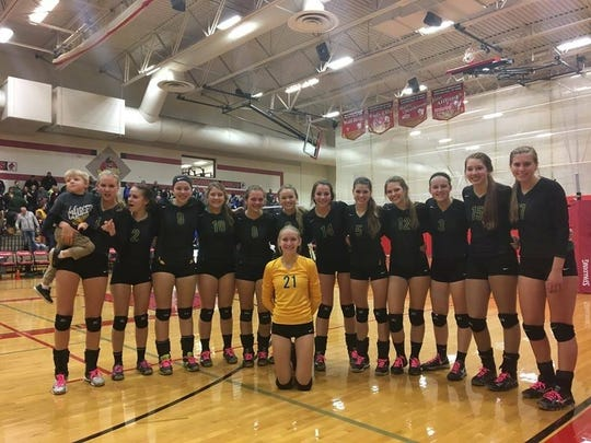 Wittenberg-Birnamwood's volleyball team is one win away from its first state tournament in program history.