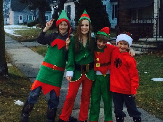 Santa's Elves will help children shop for Christmas gifts for their families.