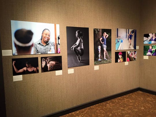 Photos displayed at the 2015 Embrace Your Body Gallery Gala.
