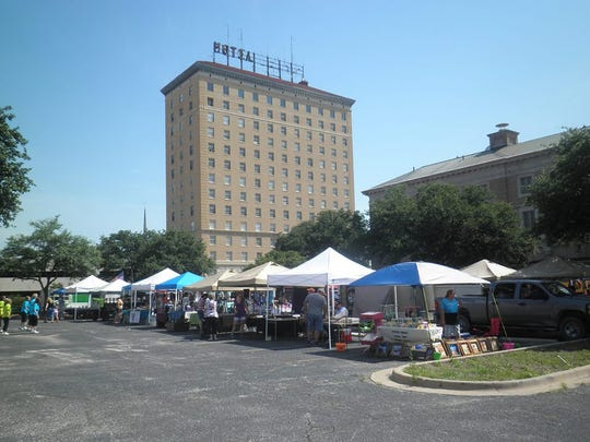 Cactus Market Days are held on the third Saturday of the month in downtown San Angelo.