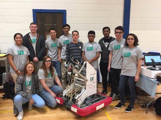 Pre-Rookie Team Astraea Robotics from East Brunswick
