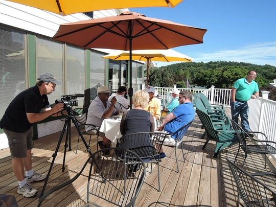 "A majority of the filming for ""County Club Confession"" took place on the deck of Degennaro's Restaurant."