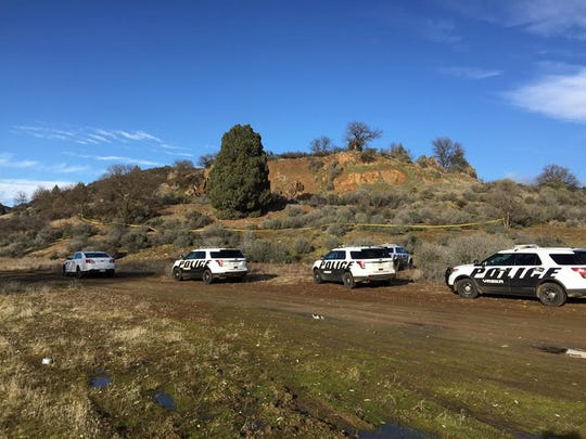 Yreka police on Saturday respond to a reported death