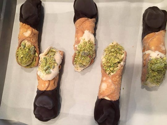 Cannoli are on the menu for Carpe Diem's New Year's Eve brunch