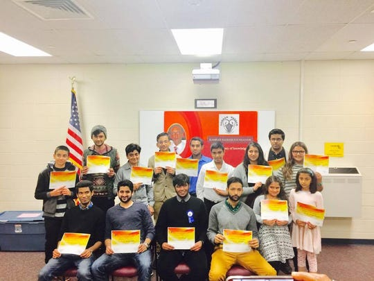 At an impressive show of youth talent on Saturday, Dec. 17, at Edison Public Library in Edison, The Kamran Nadeem Foundation held its first Youth Talent Menagerie.