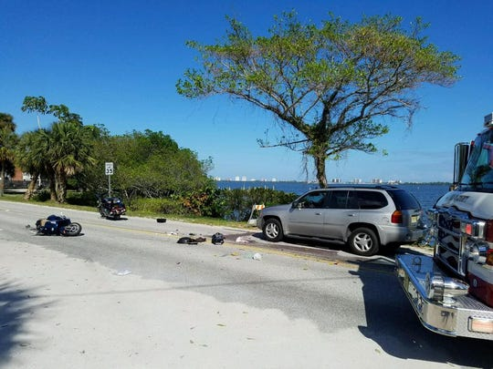 Indian River Drive was closed Dec. 28, 2016 from County Line Road to Causeway in Jensen Beach because of a motorcycle accident.