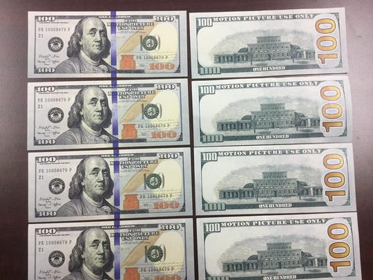 Counterfeit bills used in Ashland City that are similar