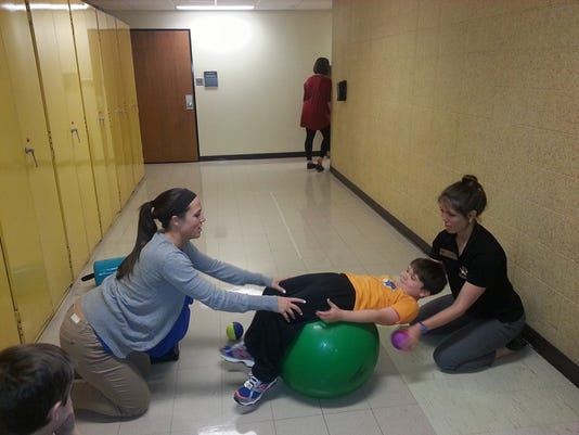 Nathan Schelp goes a therapy session