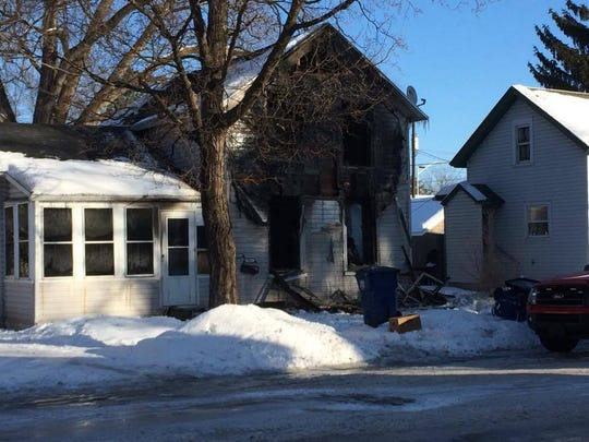 Fire crews respond to a structure fire on the 500 block of Humboldt Avenue.