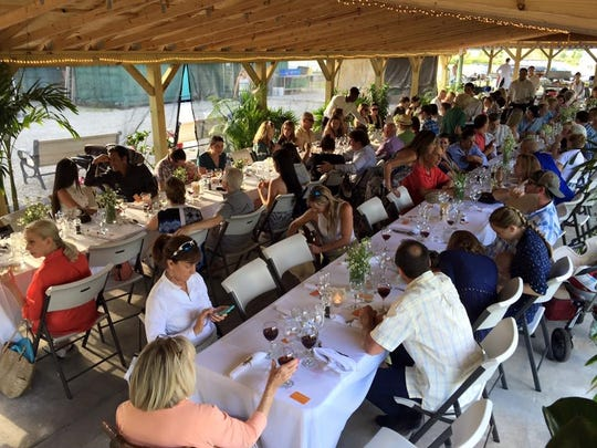 Farm to table and specialty feasts are frequent events at Kai-Kai Farm in Indiantown.