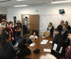 NAACP, others hold sit-in against Sessions at Grassley's office