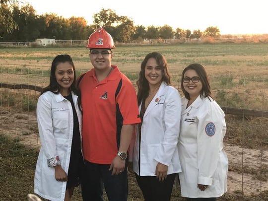 From left to right: Valerie Alvarado, Joey Valencia,