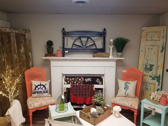 Fifty Shades of Shabby opened in Algonac on Sunday. The shop features rustic farm-house and nautical home decor.