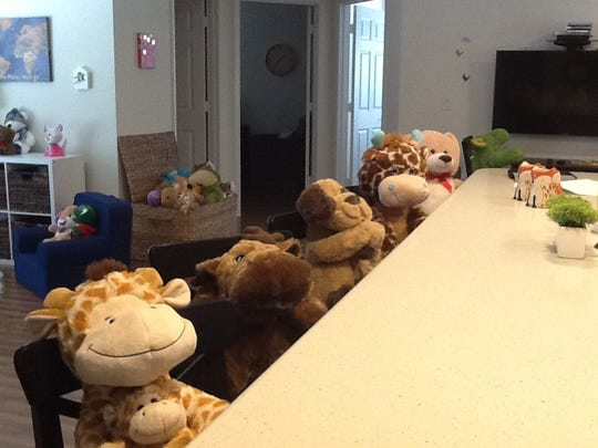 New toys inside the Sanctuary4Kids Treasure Coast home in Port St. Lucie.