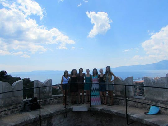 Students from Anderson University spent time exploring the Croatian island of Krk during a 2015 study abroad trip.