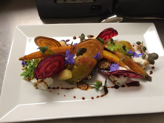Root vegetable salad at the Oliver Royale, 5 Market Square