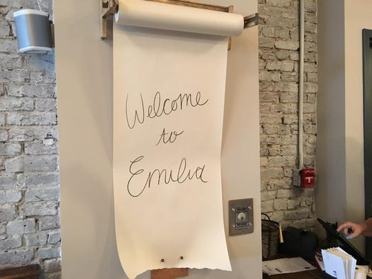 Emilia, 16 Market Square, is a locally owned Italian restaurant that serves seasonally-inspired dishes. House-made pasta is a specialty.