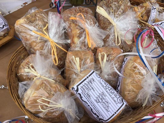 Different types of bread are sold at the Muncie Makers Market. Owner and operator Moth Danner is hoping to have the market open in April this year.