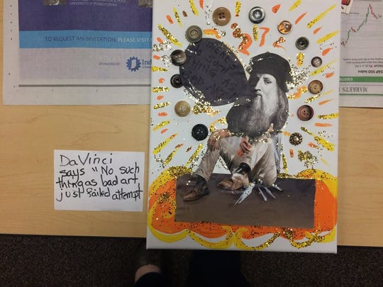 Adults also get a creative outlet at the Stayton Library