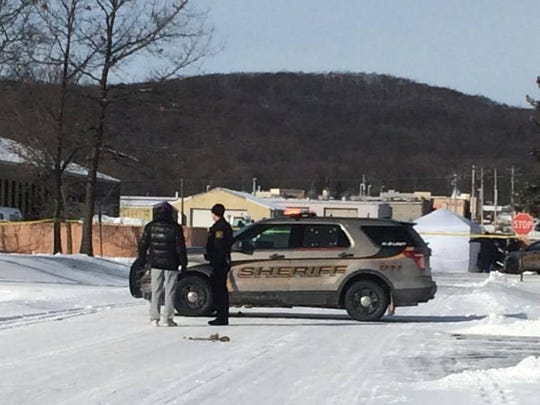 A Marathon County Sheriff's deputy was involved in a shooting Thursday in Rib Mountain.