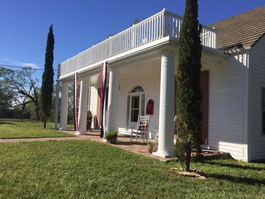The Murphy Ranch House in Live Oak County was designated