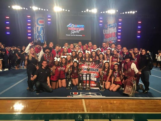 NMSU cheer team photo