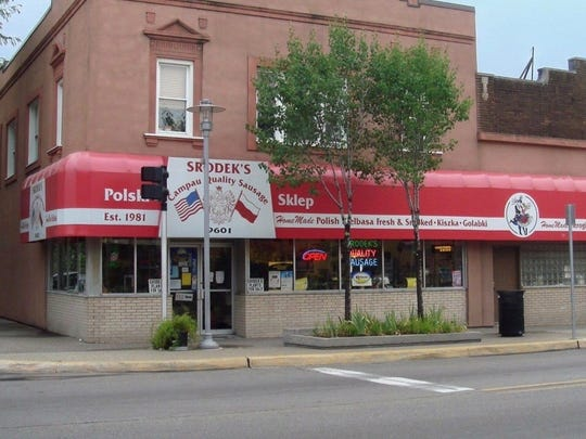 Srodek's is a mainstay for pierogi and sausage in Hamtramck.