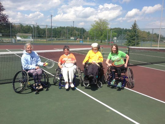 Last year at the Shenandoah Valley Paralympic Experience