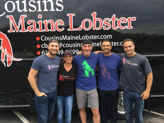 Cousins Maine Lobster food truck franchise was first featured on 'Shark Tank' on ABC.