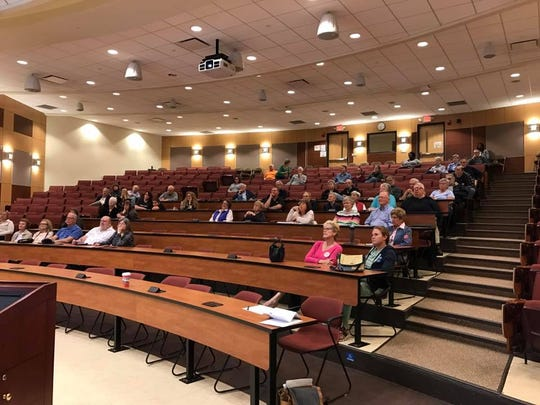 About 50 people at Wilson College listened to a presentation in March about changing the practice of gerrymandering.