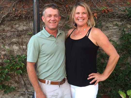 Michael Miller and his wife, Jill.