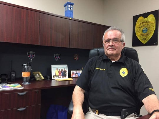 Ashland City Police Chief Marc Coulon was born in France,