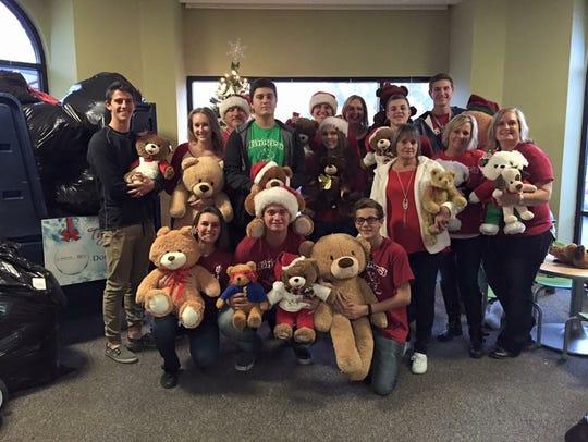 Team Emery delivers Teddy bears to sick kids in Arizona.