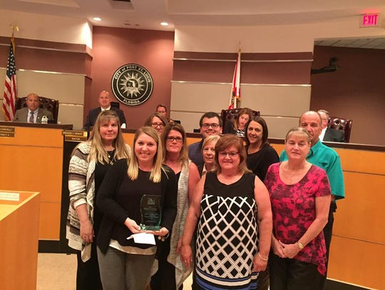 The City of Port St. Lucie Procurement Department with