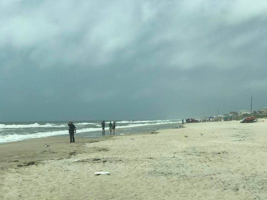 Officials are continuing to search for a swimmer who went missing off the coast of St. George Island.