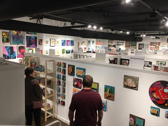 ZaPow Art Gallery's new space at 150 Coxe Ave., Suite