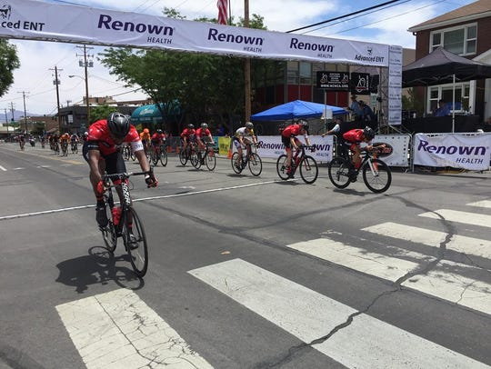 The Tour De Nez is Saturday in downtown Reno