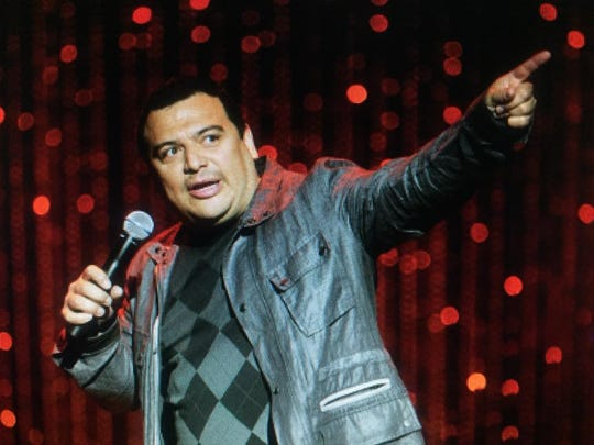 Comedian Carlos Menica will perform at Rookies Sports Pub on June 22, 2017.