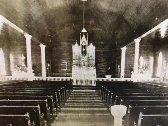 Historic photos from The Cathedral of St. John Berchmans.