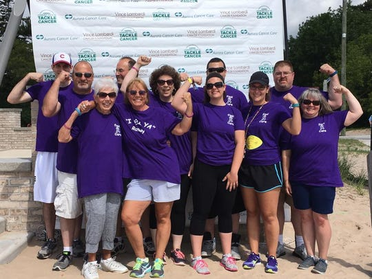 The second annual Lombardi Walk to Tackle Cancer raised