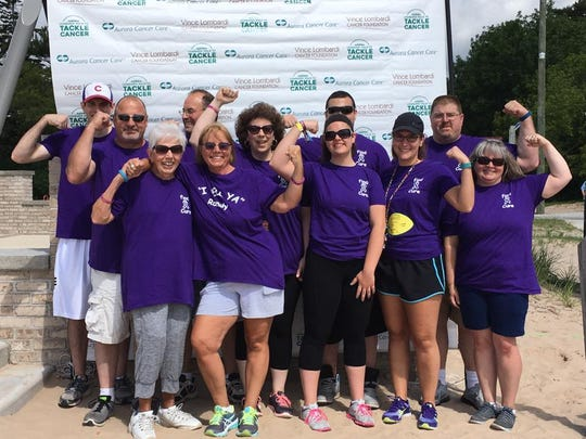 The second annual Lombardi Walk to Tackle Cancer raised more than $12,500 in Two Rivers on Saturday, June 24, 2017. Fund raised will receive a 50 percent match from the Vince Lombardi Cancer Foundation.